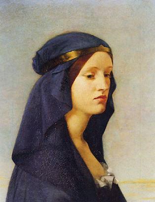Joanna Boyce Elgiva Anglo-Saxon noblewoman