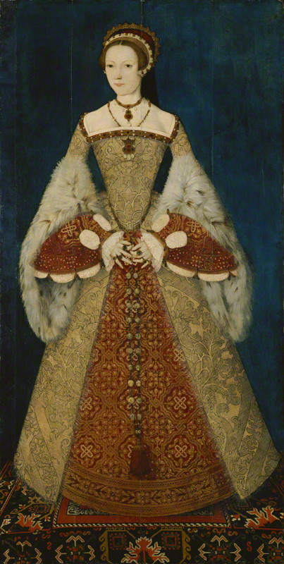 NPG 4451; Catherine Parr attributed to Master John