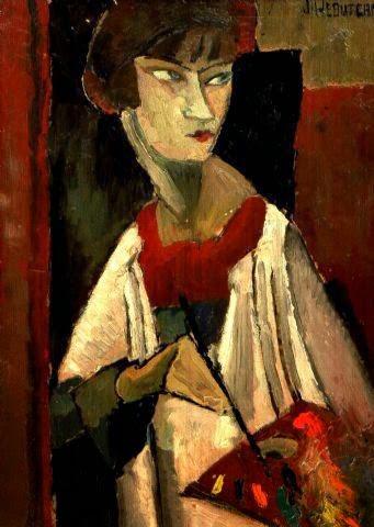 Image result for jeanne hebuterne self portrait
